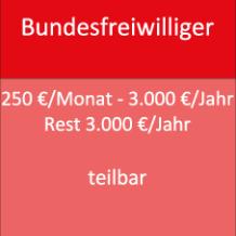250 €/Monat - 3.000 €/Jahr Rest 3.000 €/Jahr teilbar