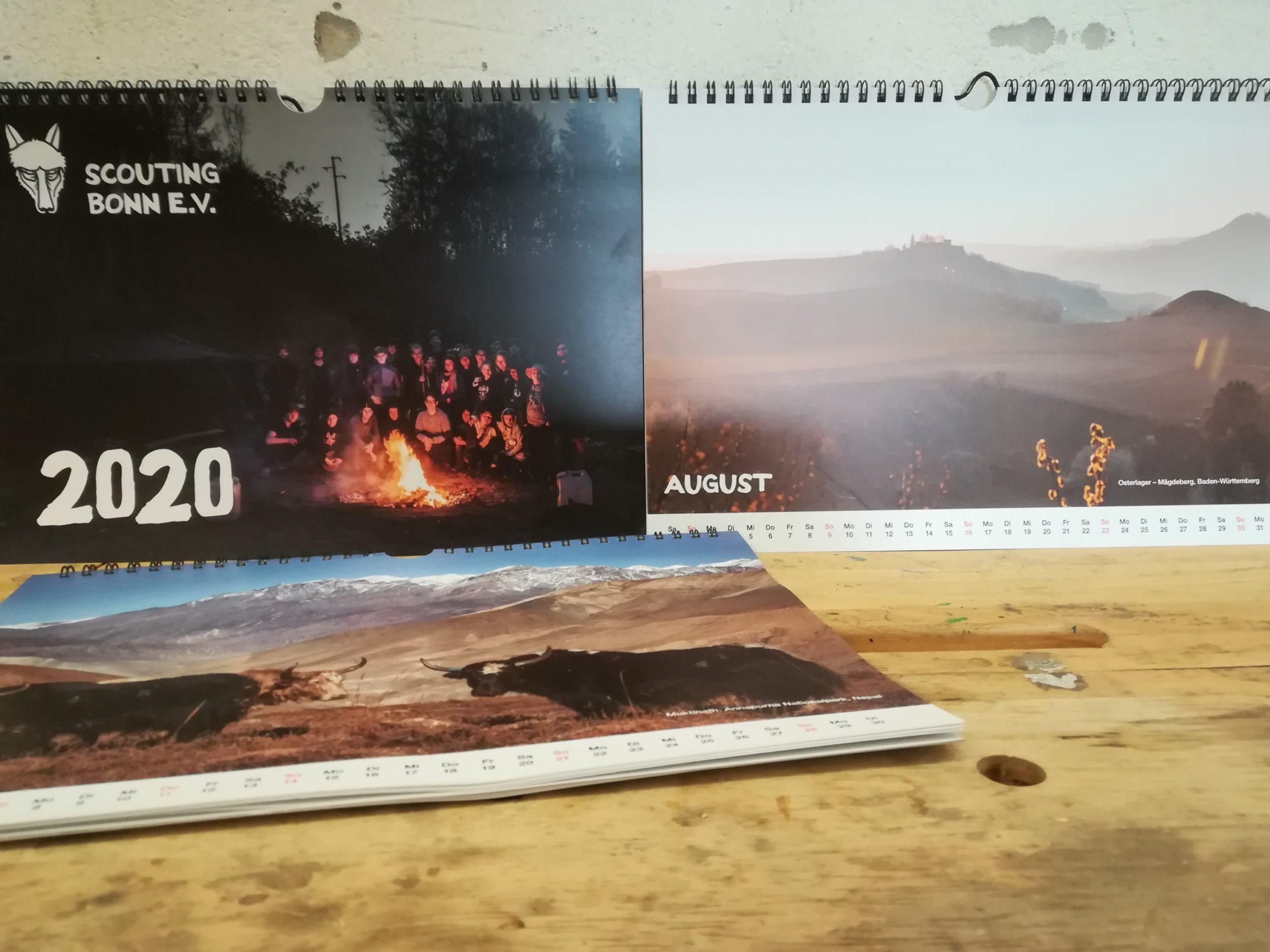 Scouting Jahreskalender 2020